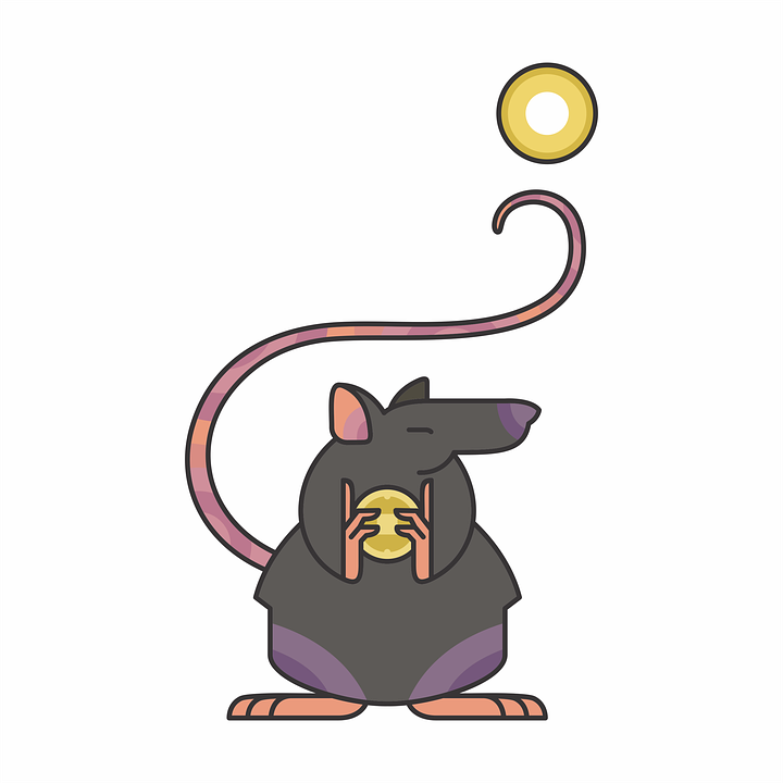 3bd173654 Vector Rat Chinese - Free image on Pixabay