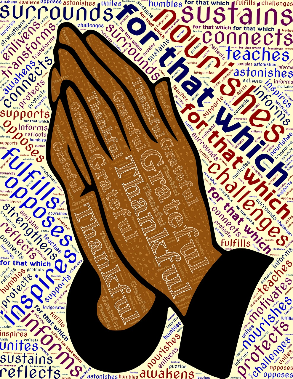 Pray Hands Grateful - Free image on Pixabay