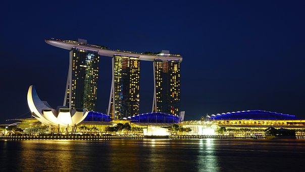 Singapur Marina Bay Sands Hito Museo Artsc