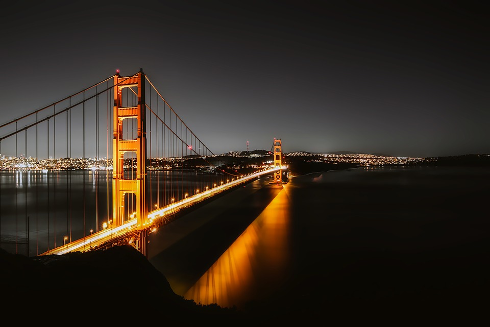 Christmas Lights In San Francisco