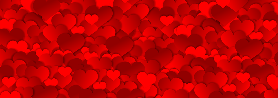 Banner Hearts Texture Free Image On Pixabay