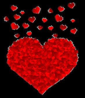 心, バレンタインデー, 愛, 感情, 休日, はがき, 赤, ロマンス
