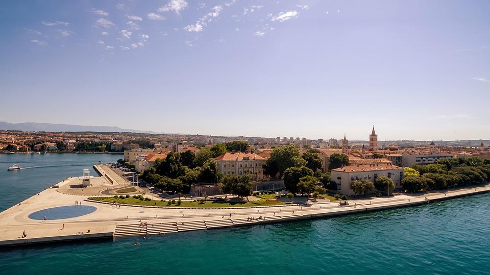 Zadar, Croatia, Summer, Sea Organ, Adriatic, Dalmatia