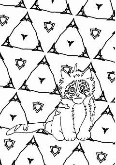 Doodle Kedi Resimler Ucretsiz Resimleri Indir Pixabay