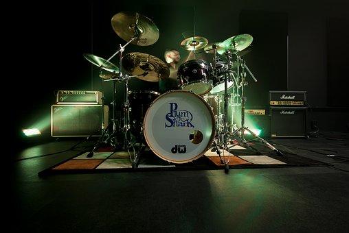 Drum, Battery, Live, Show, Amplifier