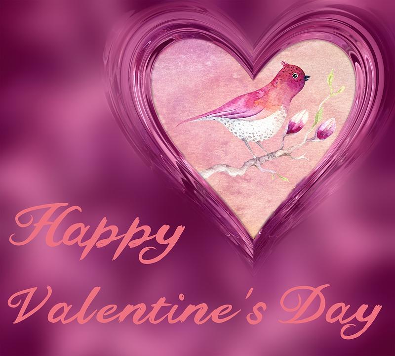 Heart, Watercolor, Valentine Card, Pink, Love, Romantic