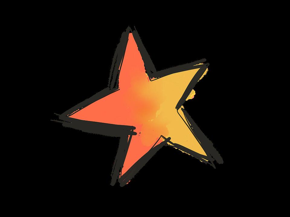 Bintang Doodle Sketsa Gambar Gambar Gratis Di Pixabay