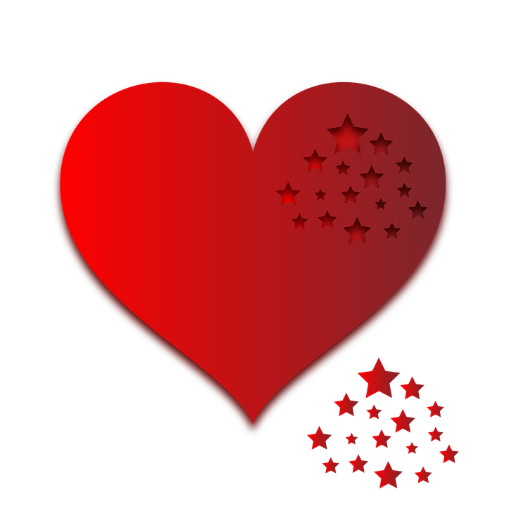 Heart Gradient Sticker - Free image on Pixabay