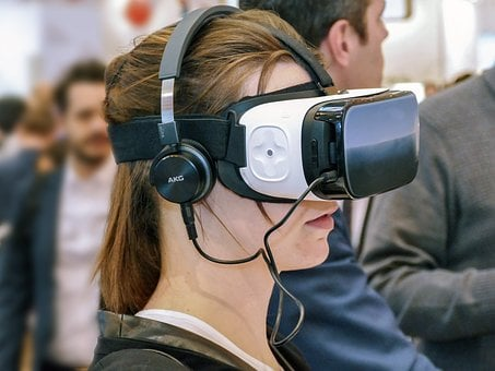 Vr, 眼镜, Oculus公司, 虚拟, 现实, 虚拟现实, 模拟, 虚拟世界