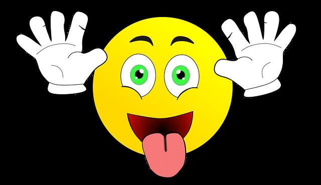 Smileys Zunge