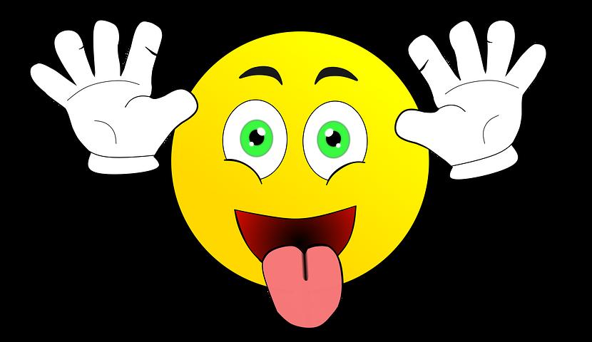 Картинка смешной рожицы с языком, днем