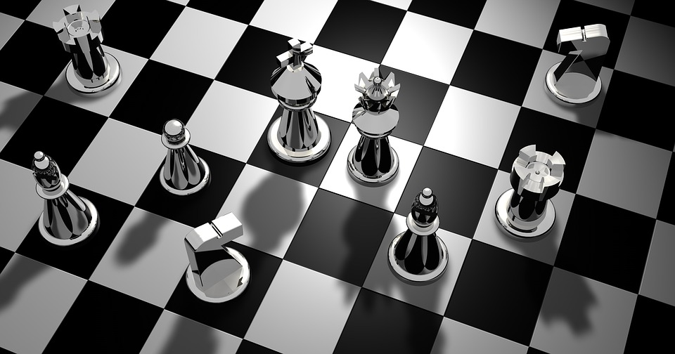 Chess Figures Pieces Strategy