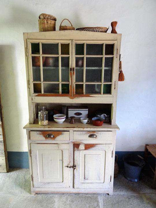 Küchenschrank Vintage Alt · Kostenloses Foto auf Pixabay