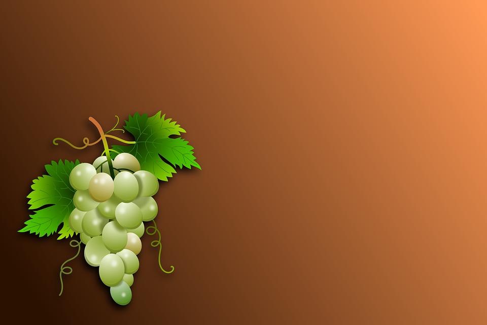 Виноградная открытка