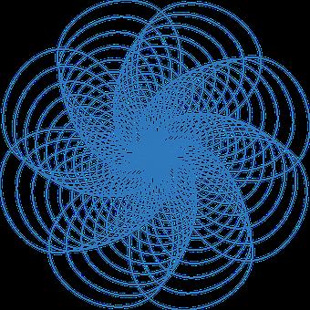 Spirograph, Pattern, Design, Geometric