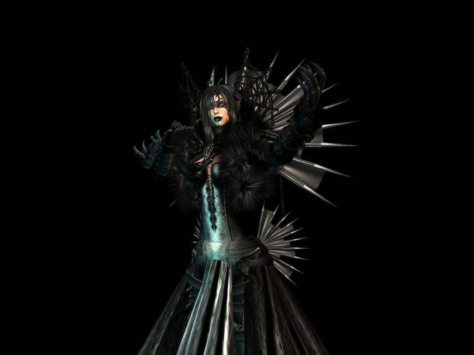 free illustration dark queen gothic female magic