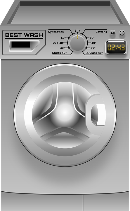Washing Machine Clothes Laundry Free Vector Graphic On Pixabay