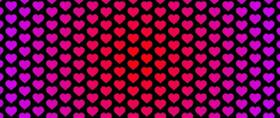 Bandera Corazones Fondo · Imagen Gratis En Pixabay