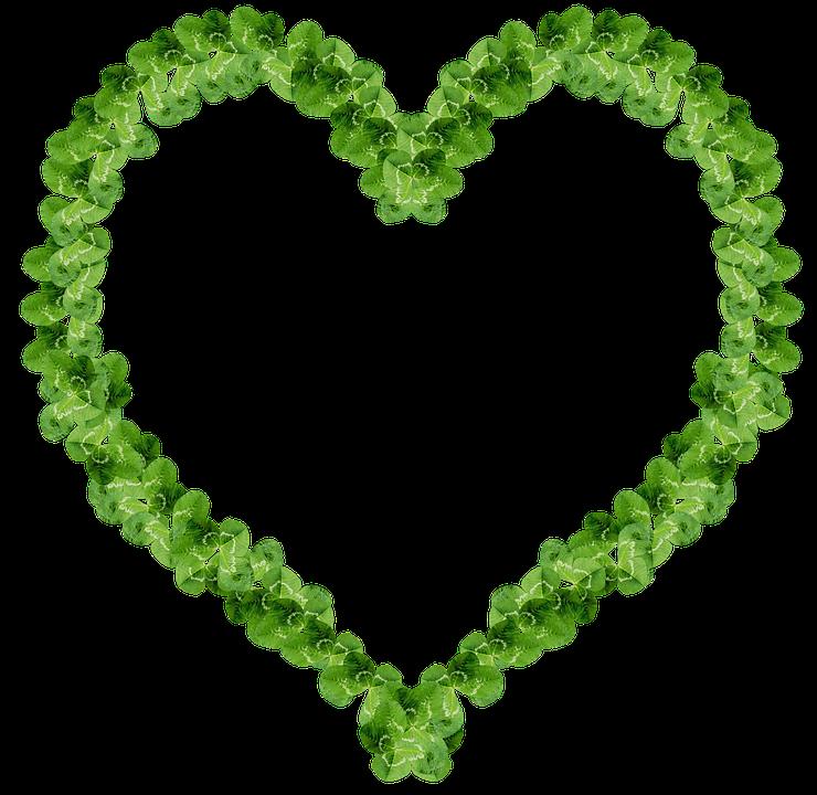Trébol Corazón Marco · Imagen gratis en Pixabay
