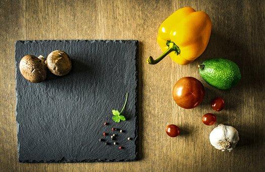 Żywności, Warzywa, Zdrowe, Moc, Warzywo