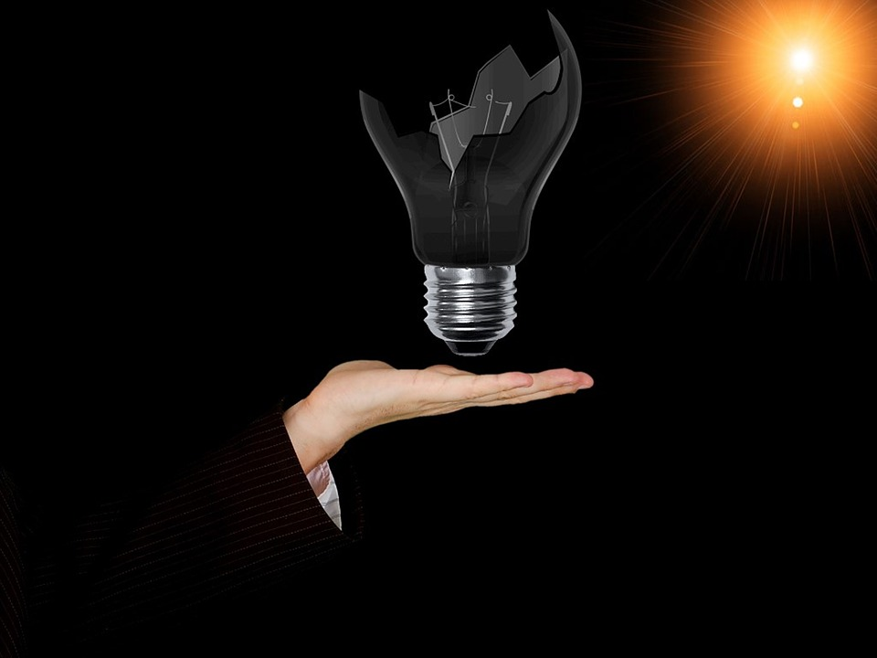 Free Illustration Lamp Bulb Broken Bulb Idea Free