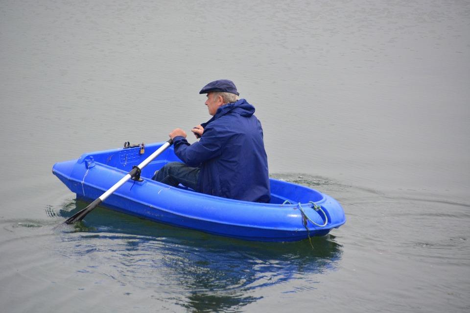 rameur bateau