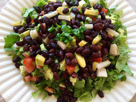 Spicy Black Bean Salad for ADD Nutrition