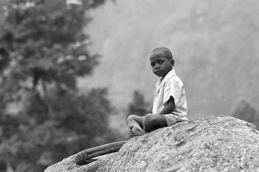 África, Criança, Humilde, Jovem