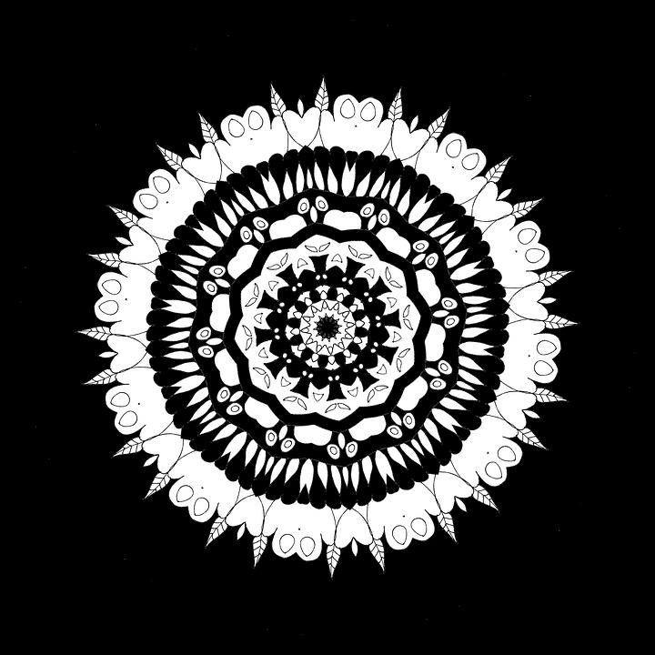 Mandala Mewarnai Untuk Orang Gambar Gratis Di Pixabay