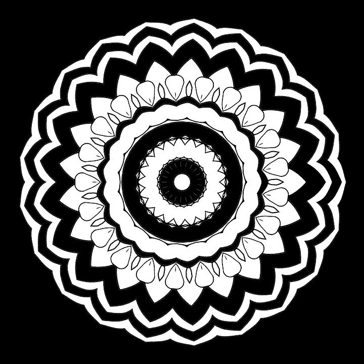 Mandala Malvorlagen Für Erwachsene · Kostenloses Bild auf Pixabay