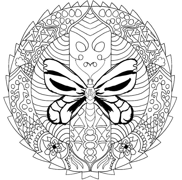 Mandala Para Colorear Adultos · Imagen gratis en Pixabay