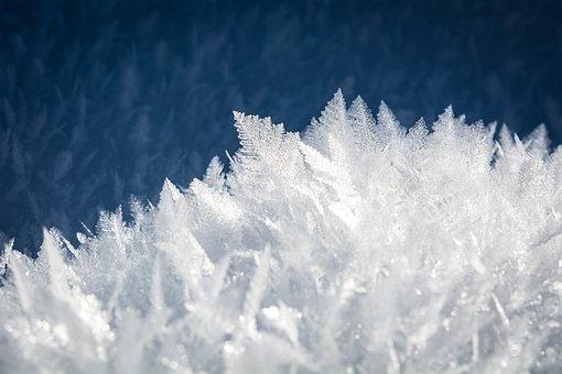 Ice Eiskristalle Snow Iced Crystals Winter