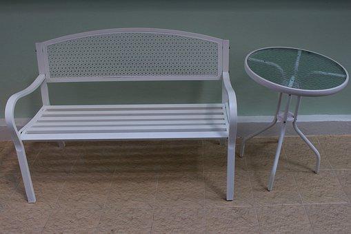 Chair, Table, Design, Elegance, Decor
