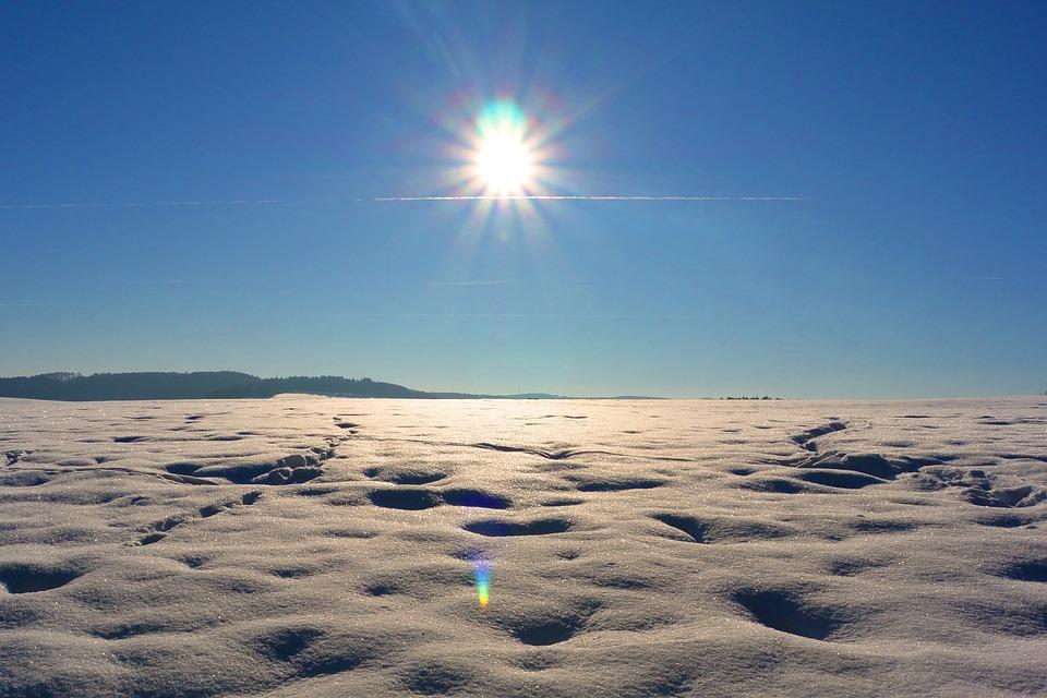 White Desert Sun Photograph by Cinoby