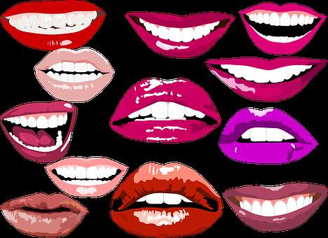 Smile, Lips, Make Up, Teeth, Dental