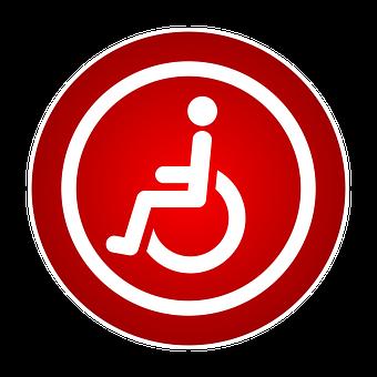 Znak, Niepełnosprawny, Inwalidztwo