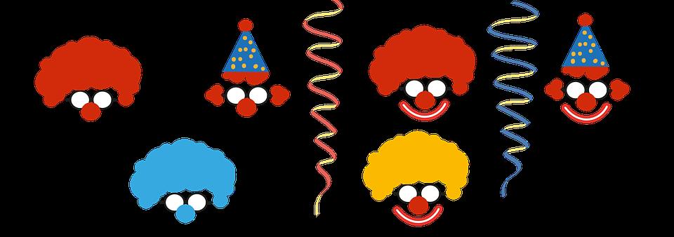 Free Illustration Clown Carnival Deco Children Free