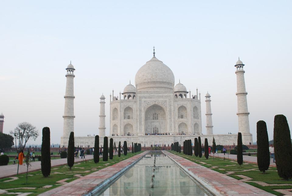 taj mahal, agra, delhi, architecture