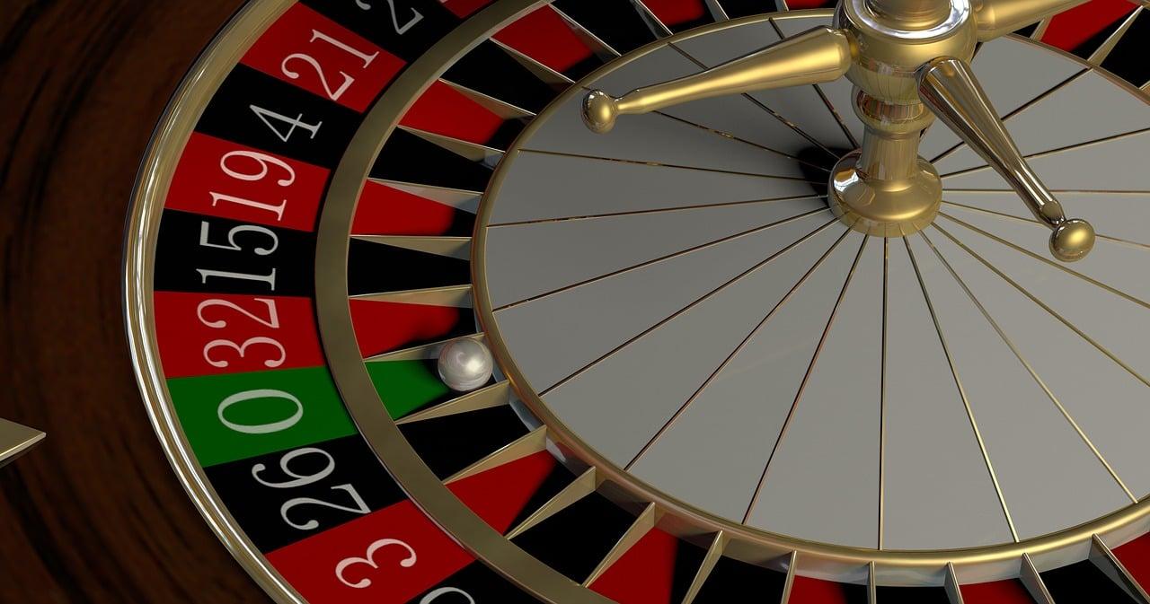Roulette jackpot wiel in casino