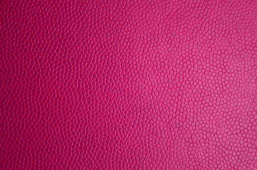 Couro rosa, textura de couro, pele