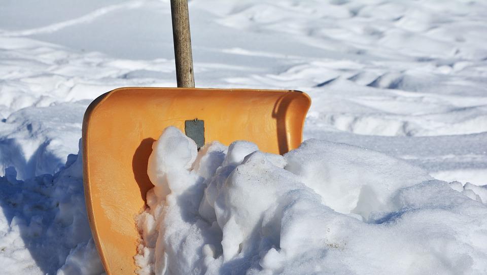 Snow Shovel, Winter Service, Winter, Snow, Room Service