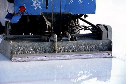 Resurfacer, Eisfeld, Artificial Ice Rink