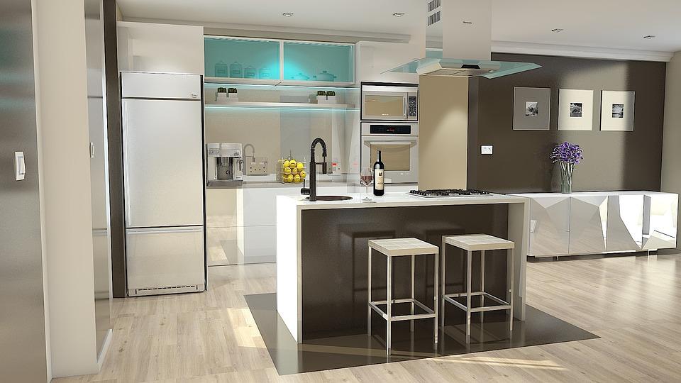 Render, 3D, Design, Open Space, Interior Design