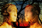 psychology, face, dialogue