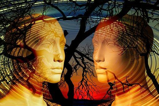 Psicología, La Cara, Diálogo, Mudo