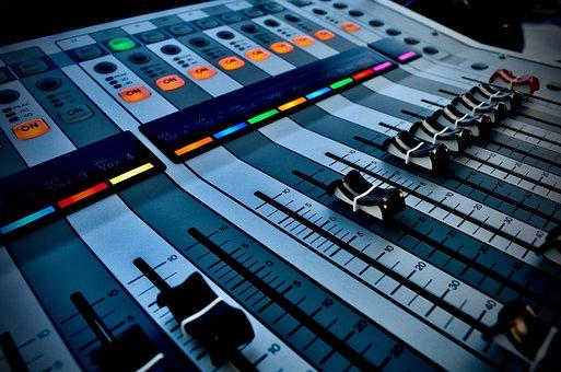Misturador, Áudio, Yamaha, Banda, Cantor