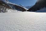 snow, landscape, unaffected