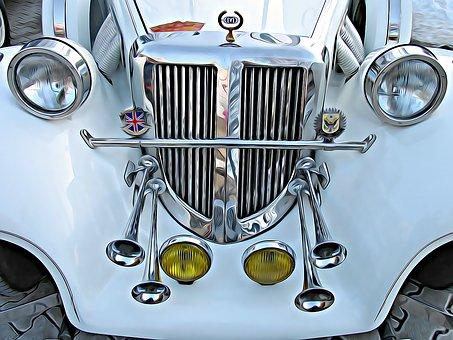 Old Car, Veteran, Oldtimer, Classic