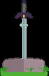 sword, weapon