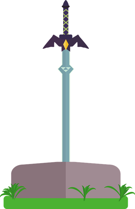 Master Sword Weapon - Free vector graphic on Pixabay